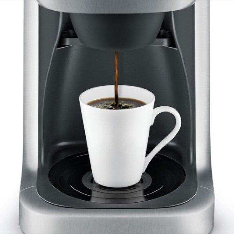 breville grind control coffee maker single server or carafe