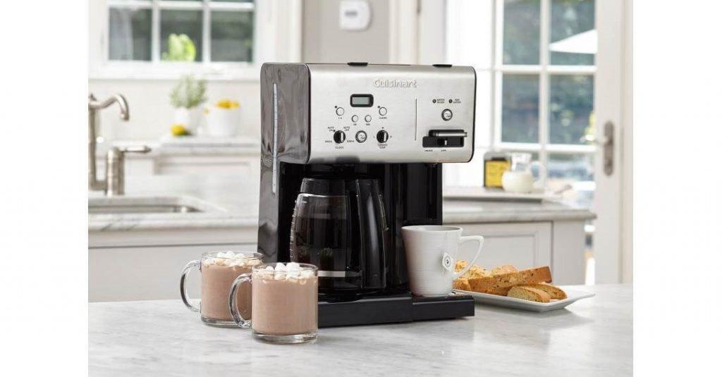 Cuisinart CHW-12 Coffeemaker Plus Hot Water System